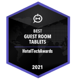 Badge - Best Guest Room Tablets 2021