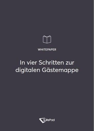 Cover des Whitepapers zum Wechsel auf digitale Gastemappen